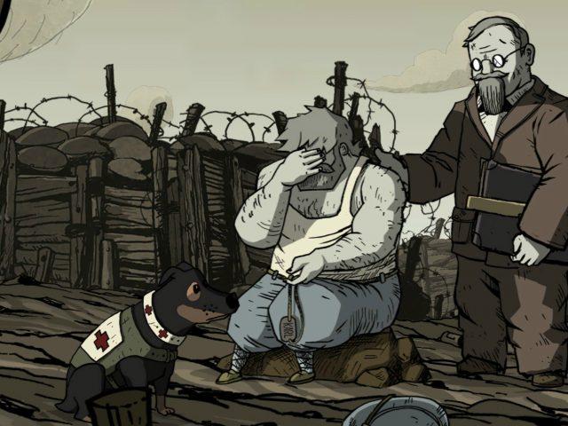 A guerra que enlouquece os homens