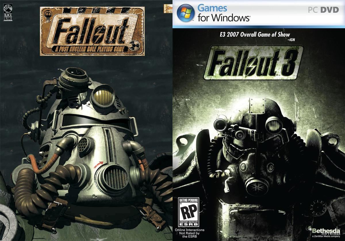 As semelhanças terminam na power armor