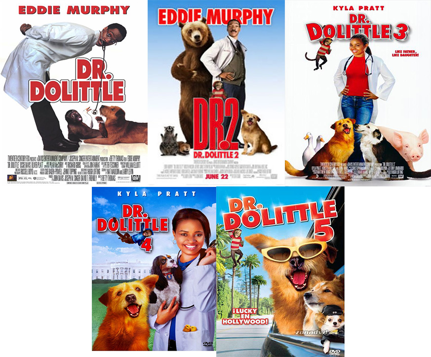 dr dolittle posters