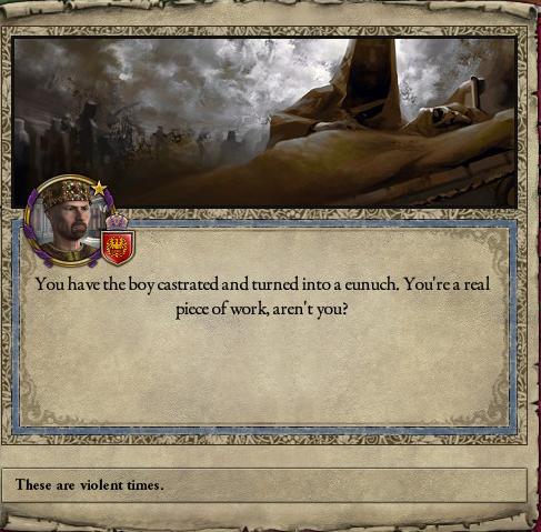 ckII castration