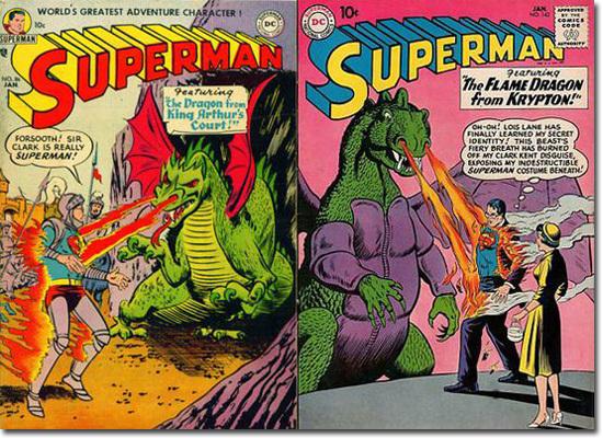 superman dragon