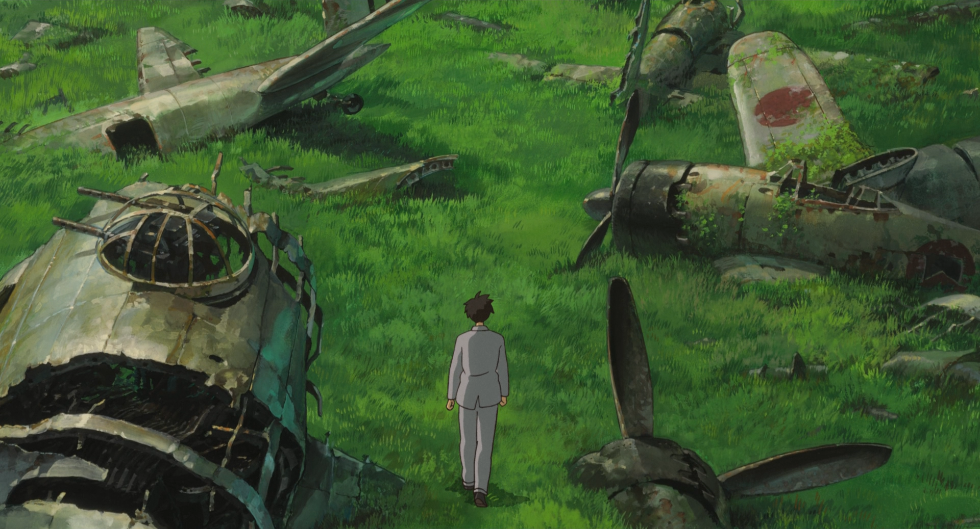 the wind rises end