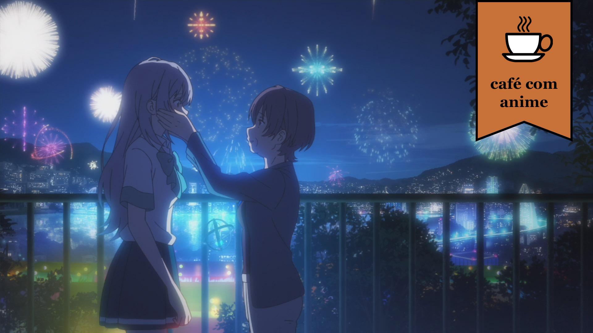 """Café com Anime: """"Irozuku Sekai no Ashita Kara"""" episódios 1 e 2"""