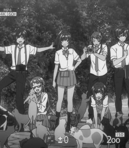"""Café com Anime: """"Irozuku Sekai no Ashita Kara"""" episódio 8"""