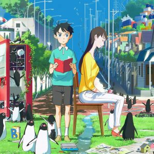 "Anime x Livro: ""Penguin Highway"""