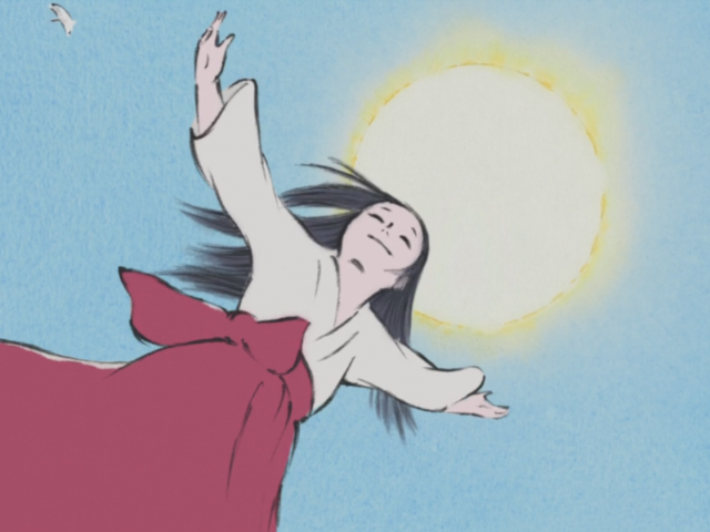 """Kaguya Hime"": em busca do presente"