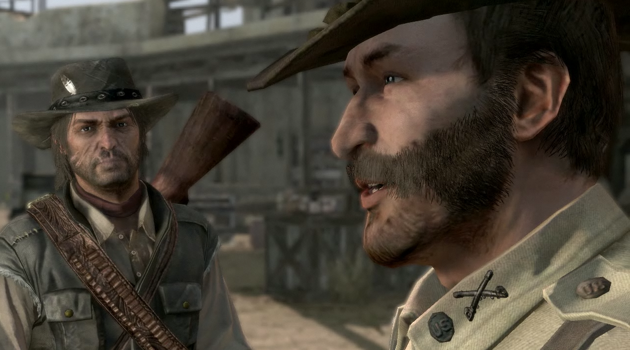 red dead redemption american army captain