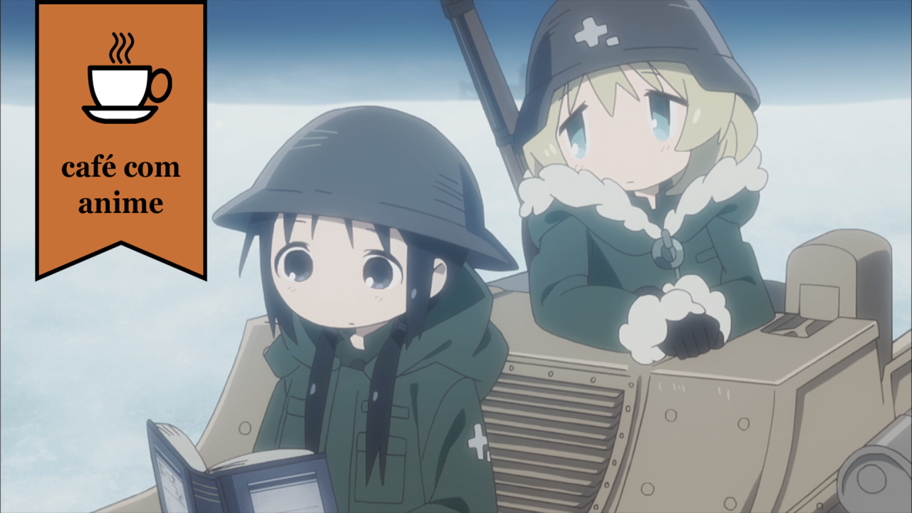 "Café com Anime: ""Girls' Last Tour"" episódio 2"