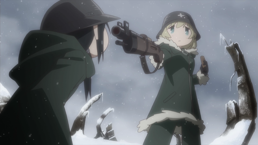 "Café com Anime: ""Girls' Last Tour"" episódio 1"
